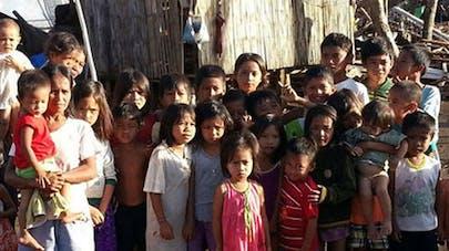 Typhon Haiyan : 30 000 enfants attendent d'être   vaccinés