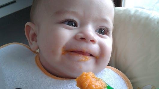 Concours photo Les premiers repas de Bébé