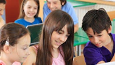 Les écoles primaires françaises bientôt sous Internet haut   débit