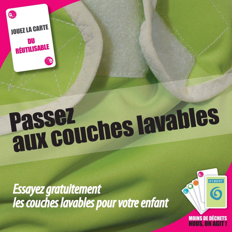 Besançon, la ville qui aime les couches lavables