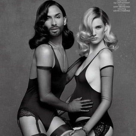 Conchita Wurst et Ashleigh Good