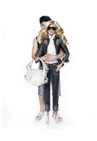 barbie relookée Lagerfeld