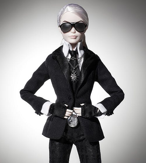 Barbie Karl Lagerfeld