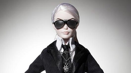 Une Barbie Karl Lagerfeld pour petits et grands fans de   mode
