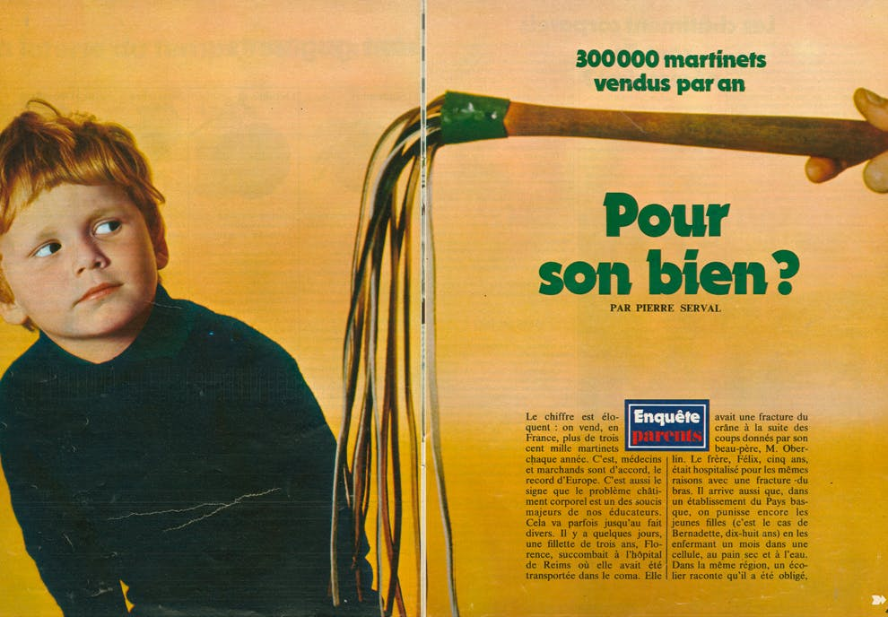 1971 : le succès du martinet en France