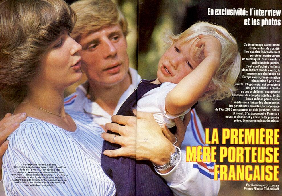 """1984 : """"la première mère porteuse française"""""""