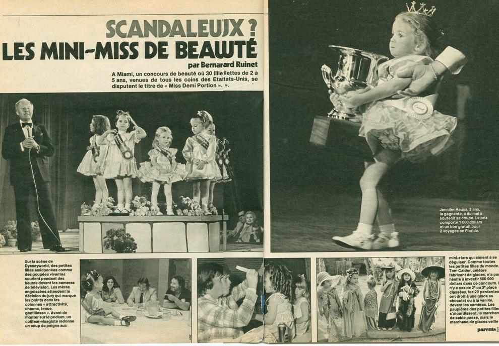 1988 : les concours de mini-miss font déjà débat         !