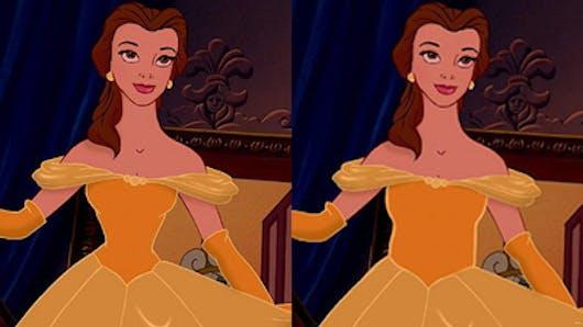 Et si les princesses Disney avaient une silhouette normale  ?