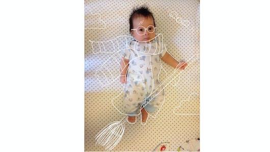 Insolite : un papa photoshope son bébé