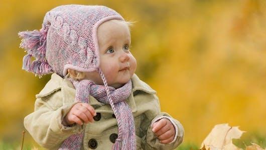 Concours photo : Bébé en automne