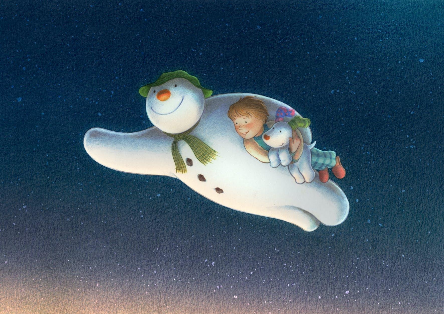 KMBO Films Les Bonhomme de neige et le petit       chien/l'Ours