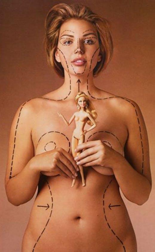 Barbie versus femme normale
