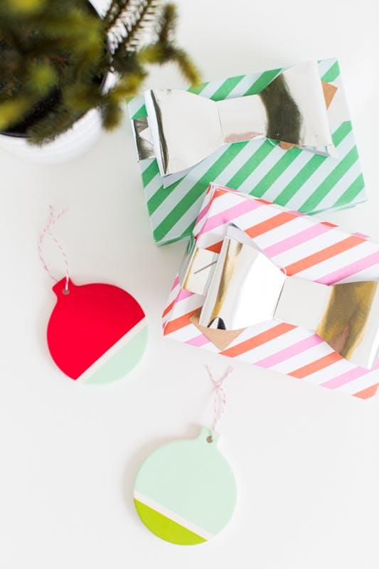 Cadeaux et boules
