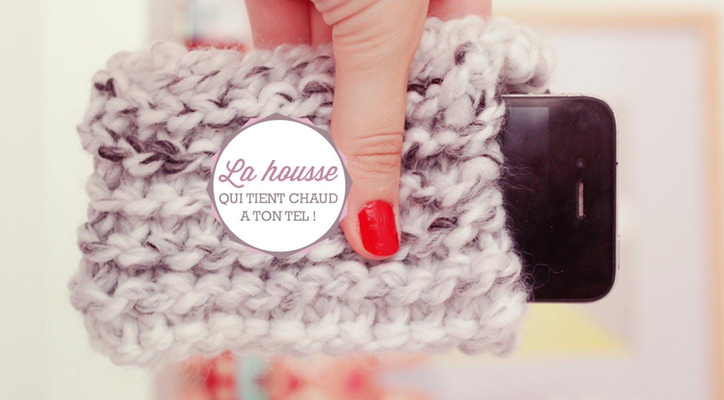 Housse en tricot