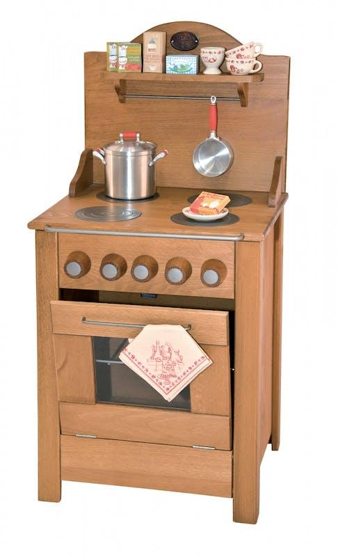 Cuisinière en bois