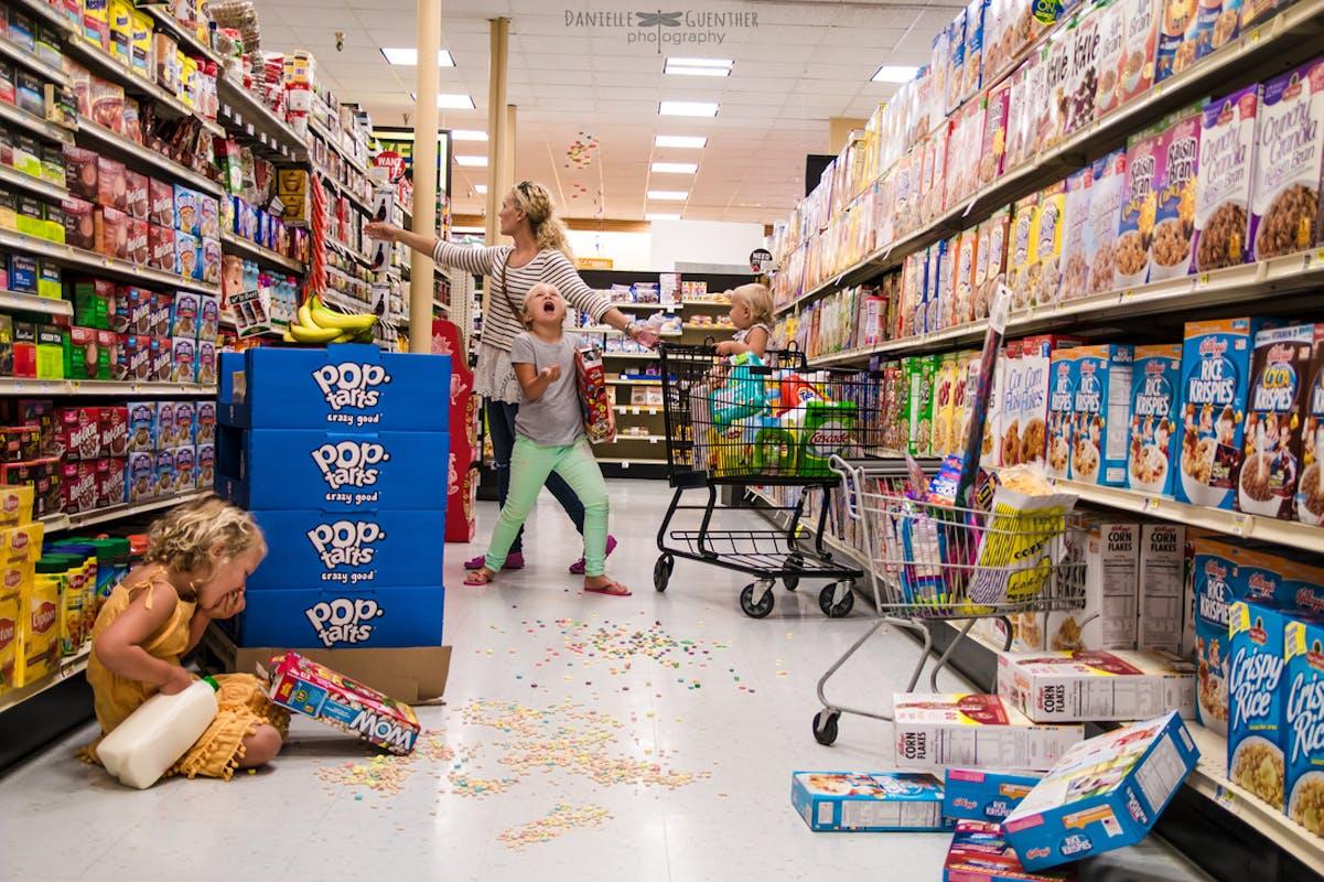Petite virée au supermarché