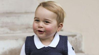 Le prince George a rencontré le père Noël