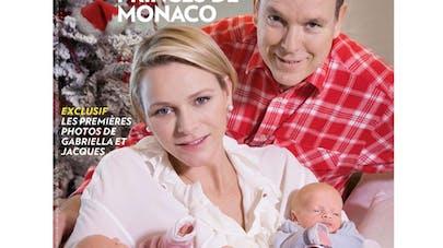 Monaco : les premières photos de Gabriella et  Jacques