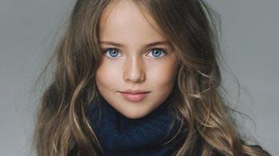 Kristina, 9 ans : la plus belle petite fille du   monde