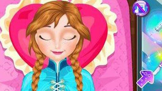 La Reine des Neiges : une application pour aider Anna à   accoucher