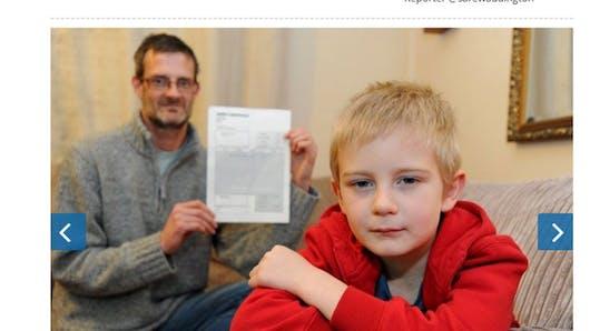 Royaume-Uni : un enfant reçoit une facture pour avoir   manqué un goûter d'anniversaire