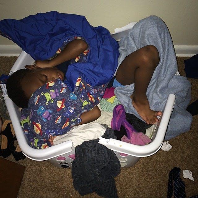 Le linge et la sieste
