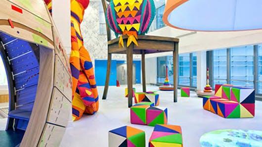 Un hôpital pour enfants à Londres redécoré par 15 artistes   !