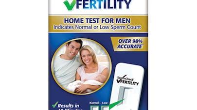 Le premier autotest de fertilité masculine arrive en   pharmacie