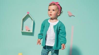 Mode bébé : 20 tenues printanières pour petite   fille