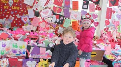 USA : 70 000 cartes de Saint-Valentin envoyées à des   enfants malades !