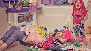 Photos : une maman parodie les scènes de la vie quotidienne avec sa fille