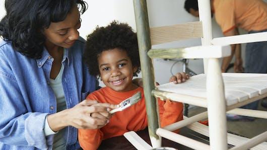 Chambre d'enfant : la tendance récup'