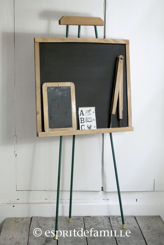 stunning brocante la tendance pour une chambre d enfant tableau ecolier ikea with ikea tableau. Black Bedroom Furniture Sets. Home Design Ideas