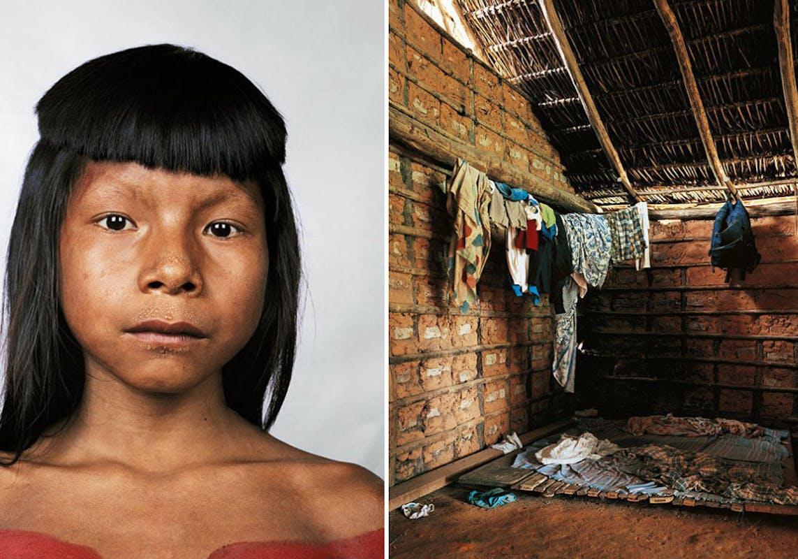 Ahkohxet, 8 ans, Amazonie, Brésil