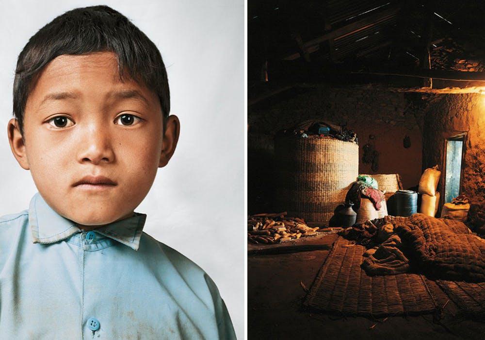 Bikram, 9 ans, Melamchi, Népal
