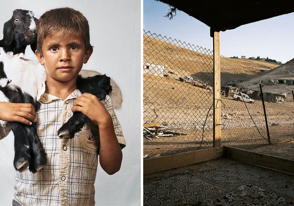 Bilal, 6 ans, Wadi Abu Indi, Cisjordanie