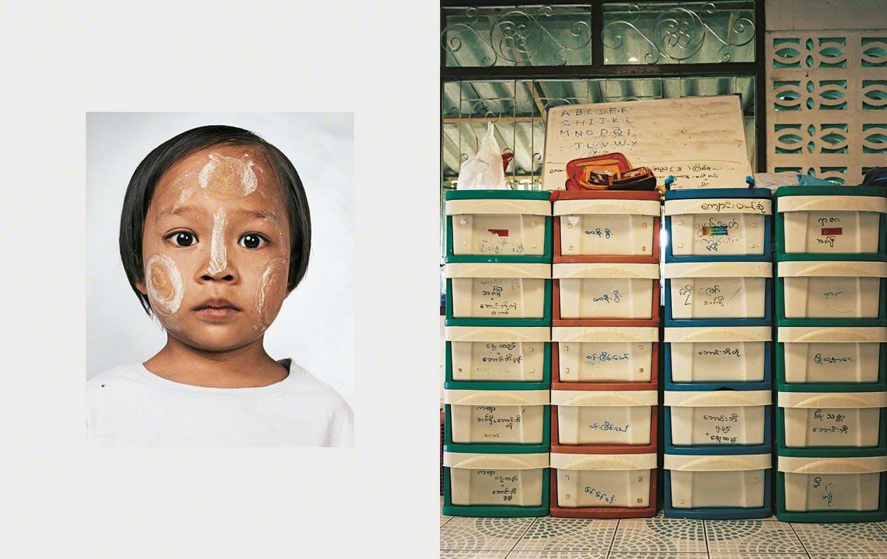 Lay Lay, 4 ans, Mae Sot, Thailande