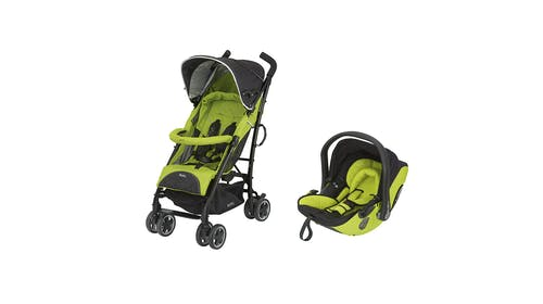 La pousette City'n Move + la coque Evo-lunafix + la         base Isofix 2 de Kiddy : innovant !
