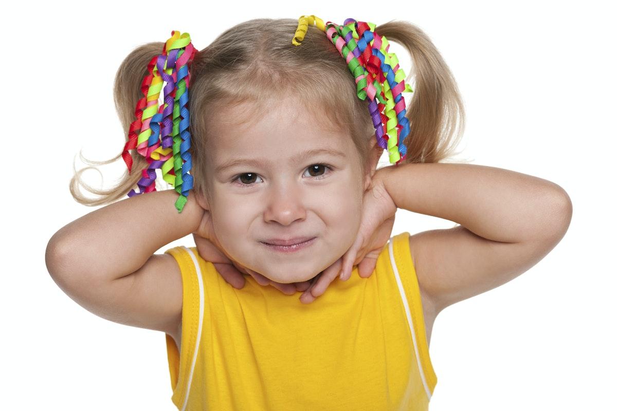 Coiffure pour petite fille 25 jolies coiffures - Petite couette pour bebe ...