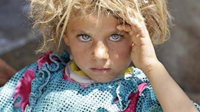 Le cliché de cette petite fille, élu meilleure photo de   l'année 2014