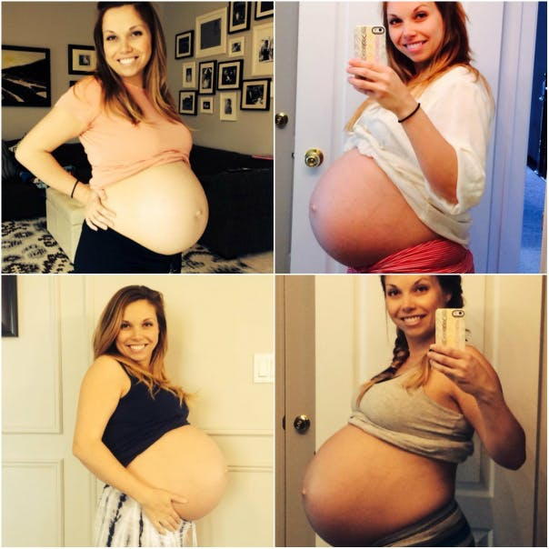 Беременные на шестом месяце 40