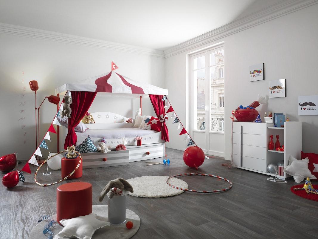 D co chambre d enfants les lits th me for Deco chambre d enfants