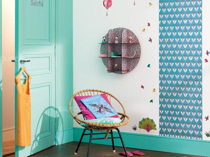 pinterest des papiers peints pour chambres d 39 enfants. Black Bedroom Furniture Sets. Home Design Ideas