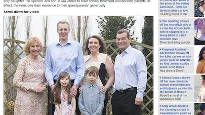 Grande-Bretagne : des parents aident à financer la FIV de   leur fille