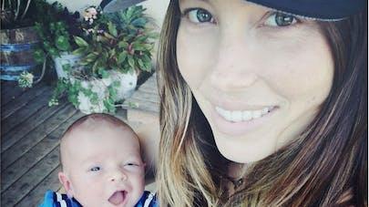 Justin Timberlake et Jessica Biel : la première photo de   leur fils