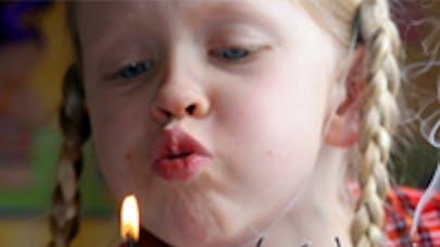 Etats-Unis : un anniversaire inoubliable pour cette petite   fille malade