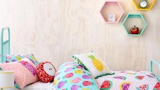 Chambres d'enfants : la tendance « fruits » dans la   déco