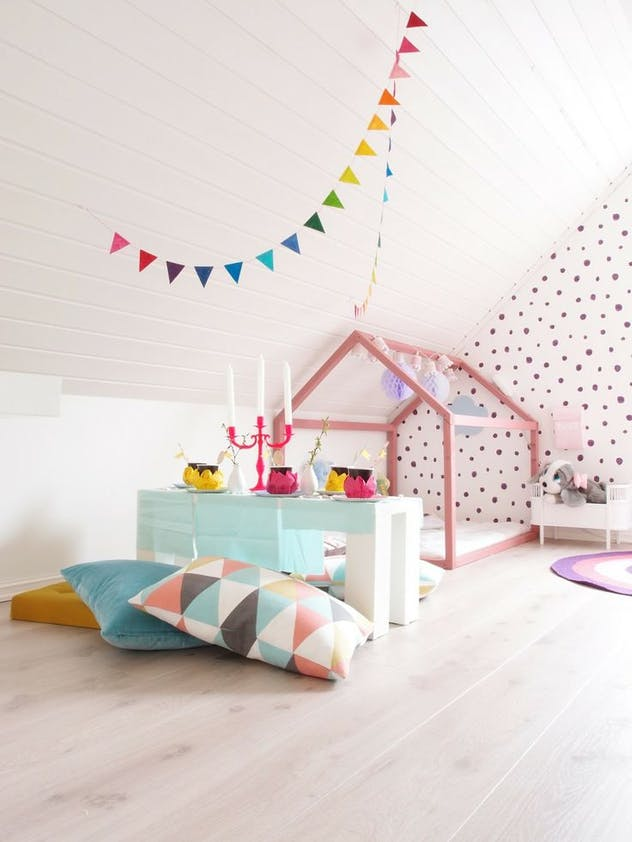 Déco : la tendance pastel pour une chambre d\'enfant - PARENTS.fr