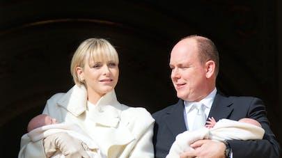 Monaco : les jumeaux de Charlène et d'Albert II   baptisés
