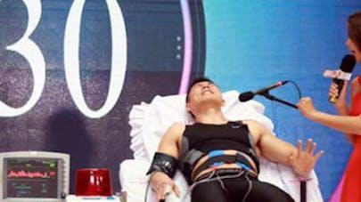 Chine : un stimulateur physique pour faire vivre un   accouchement aux hommes